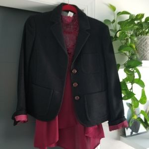 Lot of J crew blazer with blouse
